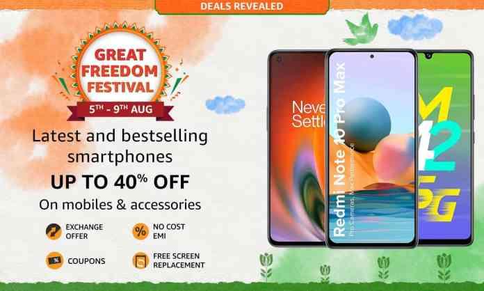 Best budget Smartphone deals under ₹10k on Amazon Great Freedom Sale