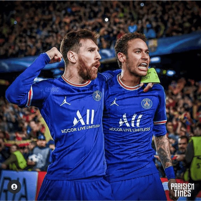 Messi could end up wearing the number 10 at PSG