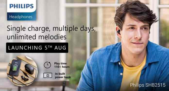 Enjoy True Wireless freedom this Independence Day with the New Philips TWS Headphones Range