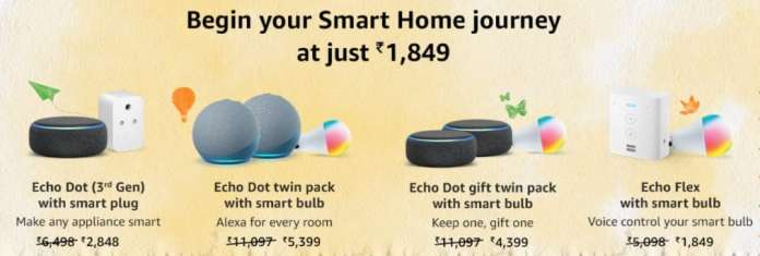 Best Deals on Smart Home Combos during Amazon Great Freedom Festival