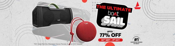 Vijay Sales announces The Ultimate boAt Sail on its eCommerce and retail stores from September 30-3rd October