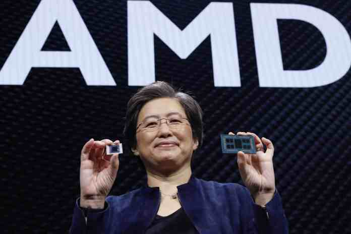 AMD's CEO expects chip shortage to show recovery signs by the second half of 2022
