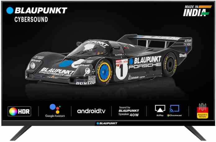 Blaupunkt announces Price Cut for 32 and 42 inch Smart Android TVs ahead of Grand Home Appliance sale on Flipkart_TechnoSports.co.in