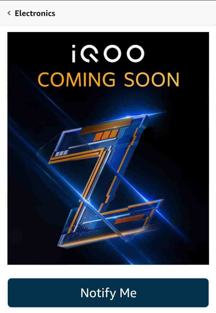 iQOO Z5 listed on Amazon will launch in September