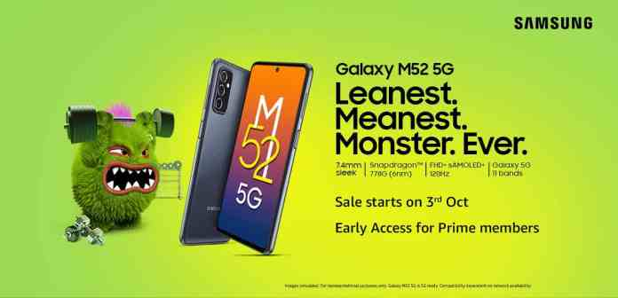 Samsung Galaxy M52 5G launched in India with a Snapdragon 778G SoC