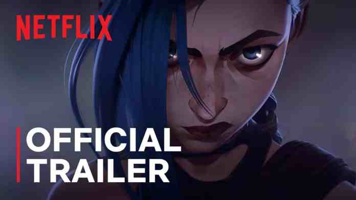 """""""Arcane"""": Netflix has revealed the first trailer of the action animate series"""