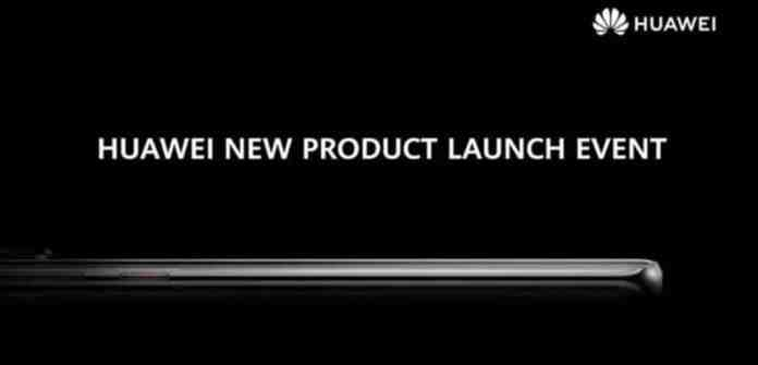 Huawei to have a new product launch event in October 2021