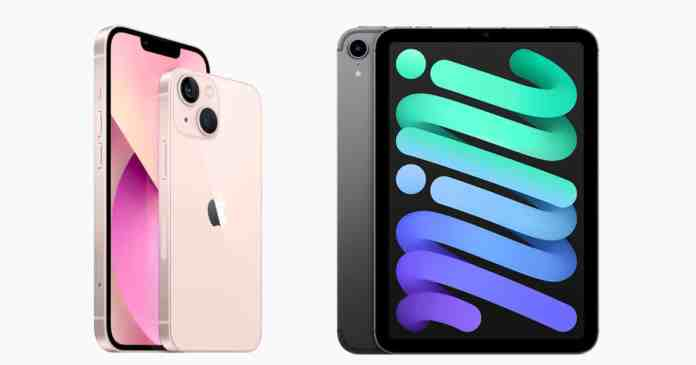 iPhone 13 pre-orders begin shipping while iPad mini 6 will begin shipping from late October and November