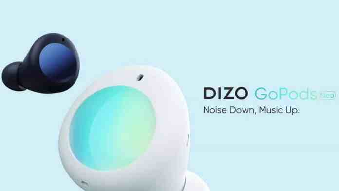 DIZO GoPods Neo with ANC will go for its first sale on September 10 at only INR 2,299 via Flipkart