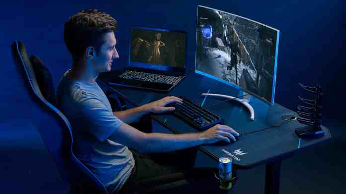 Acer brings a unique 55-inch Predator Gaming Desk for gamers