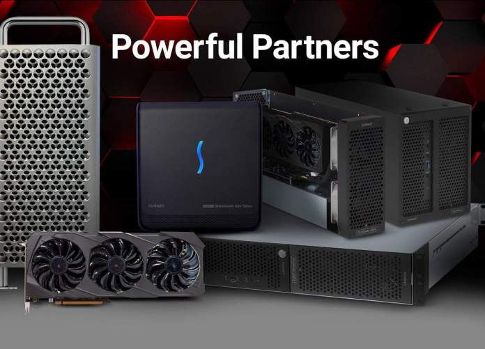 Sonnet Technologies new eGPU bundle comes with AMD's Radeon RX 6900XT and Apple Mac Mini