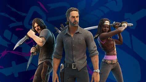 Fortnite's roaster is now joined by The Walking Dead's Rick Grimes