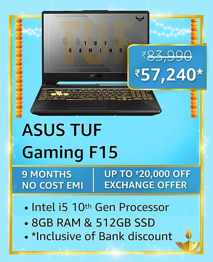 Best Gaming laptops to buy this festive season on Amazon Great Indian Festival'21