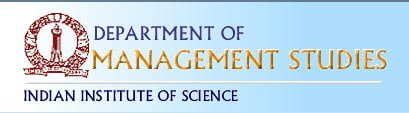 IISc to offer Masters Course in Management