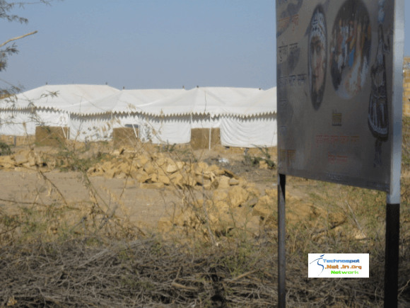 Tents with complete facilties