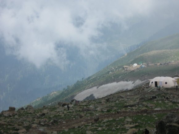 Sonmarg field view