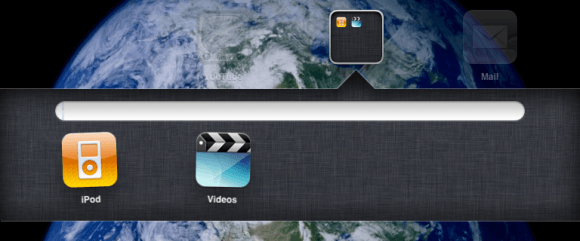Create Folder in iPad
