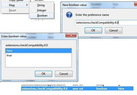 Enable Old Addons in Firefox 4
