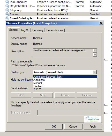 Enabling Themes in Windows Server 2008 R2