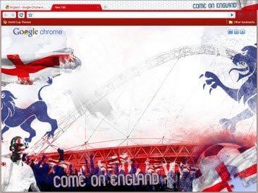 Free Download England theme for Google Chrome