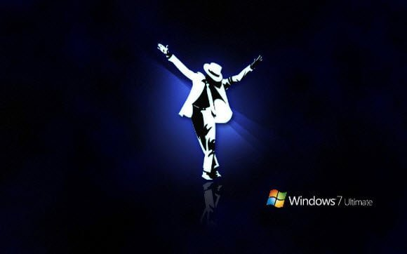 Free Download Michael Jackson Theme for Windows 7