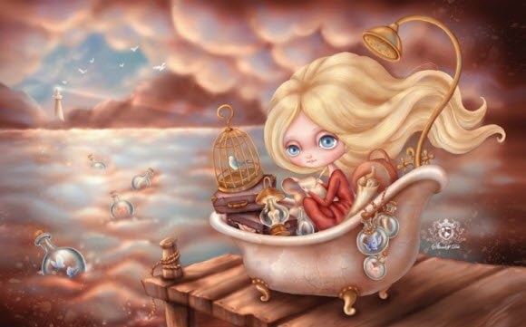 Free Download Nicole doll theme for Windows 7