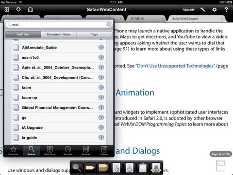 Free PDF Reader for iPad