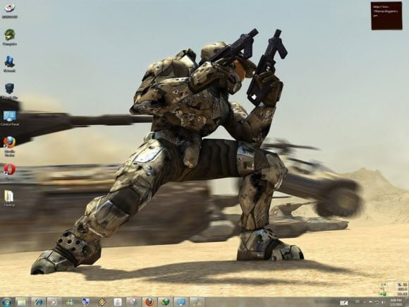 Halo Windows 7 Theme