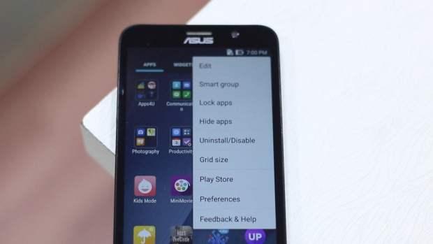 Hide Lock Apps in Zenfone 2