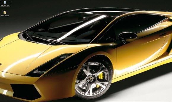 Lamborghini Theme for Windows 7