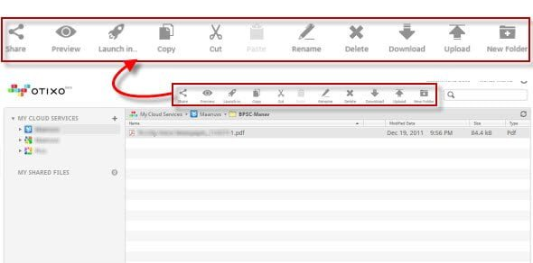 Manage your files on different Cloud Services from a Single interface