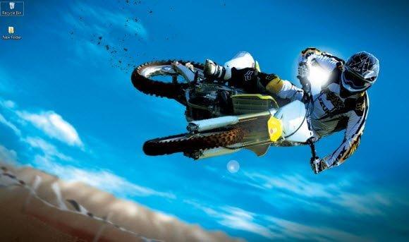 Motocross Theme for Windows 7