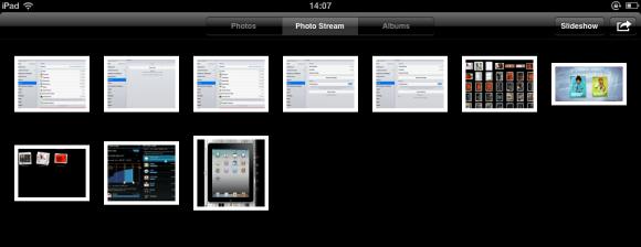 Photostream on iPad