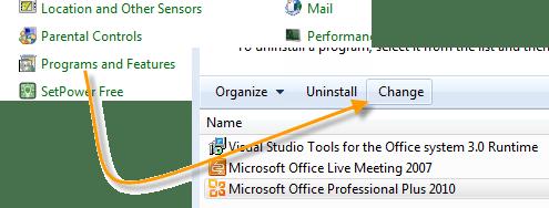 Program Features Outlook