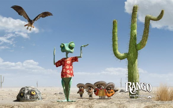Rango theme for Windows 7 Download free