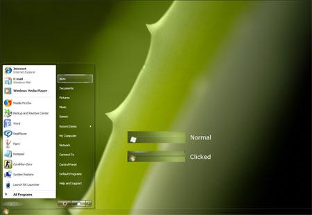 Aquos 2 Windows vista theme
