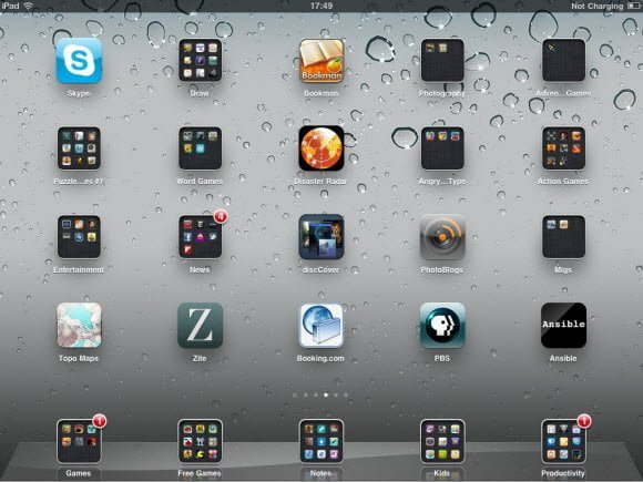 iPad Apps Layout