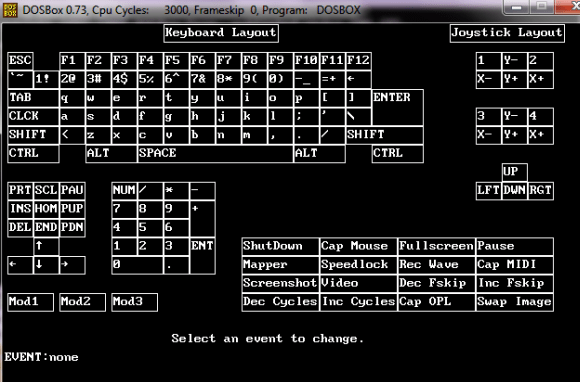 Mapping keyboard layout