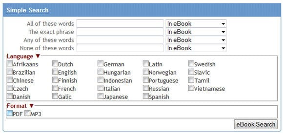 search box to download free ebooks at world ebook fair