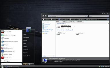 Windows Vista stealth x86 x64 theme