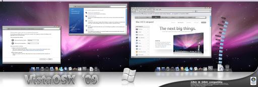 Windows vista mac os x 09 theme