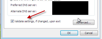 Validate on Change : Windows 7 Features