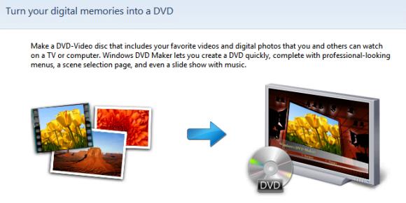 Windows 7 DVD Maker