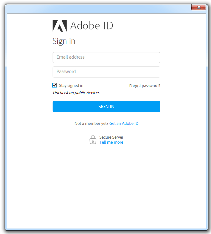 "Acrobat Reader: How to disable ""Adobe ID"" prompt Technical Notes"