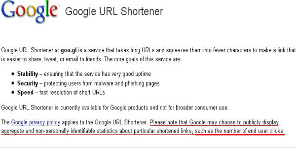 googl-url-shortner