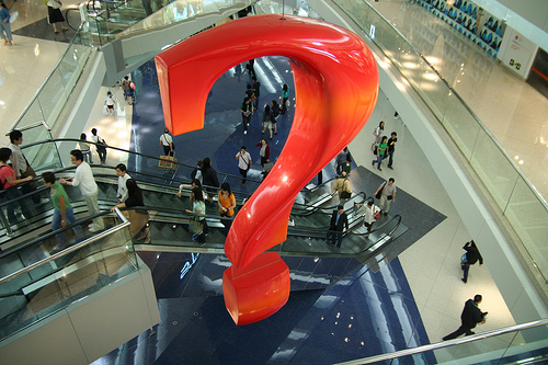 Shopping mall questions