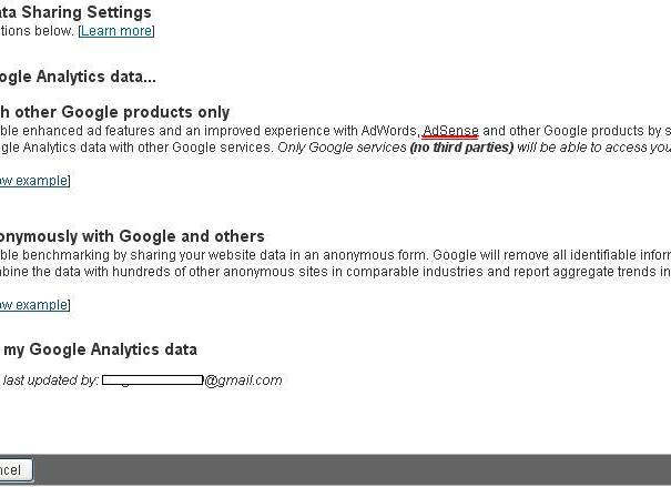 Google-Analytics-Adsense-Settings