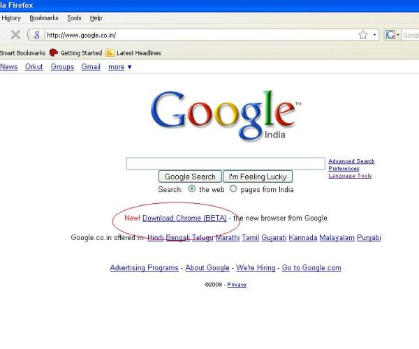 Download Google Browser: Chrome