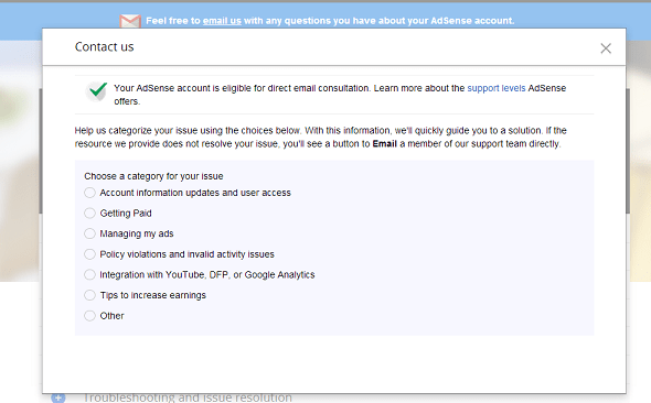 adsense-direct-email-support