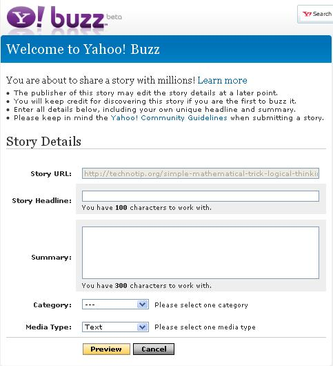 yahoo-buzz-working-properly